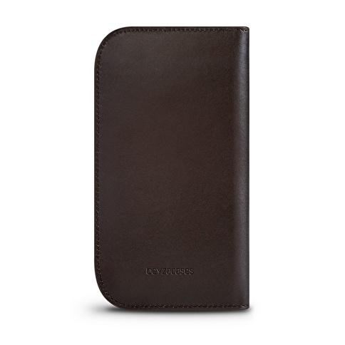 Beyzacases iPhone 6 / 6s Naturel Wallet Kahve